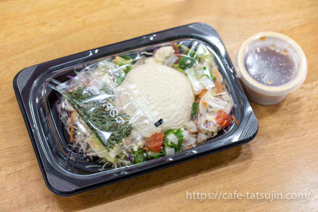 ガストの「豆腐と山芋オクラのねばとろサラダ」