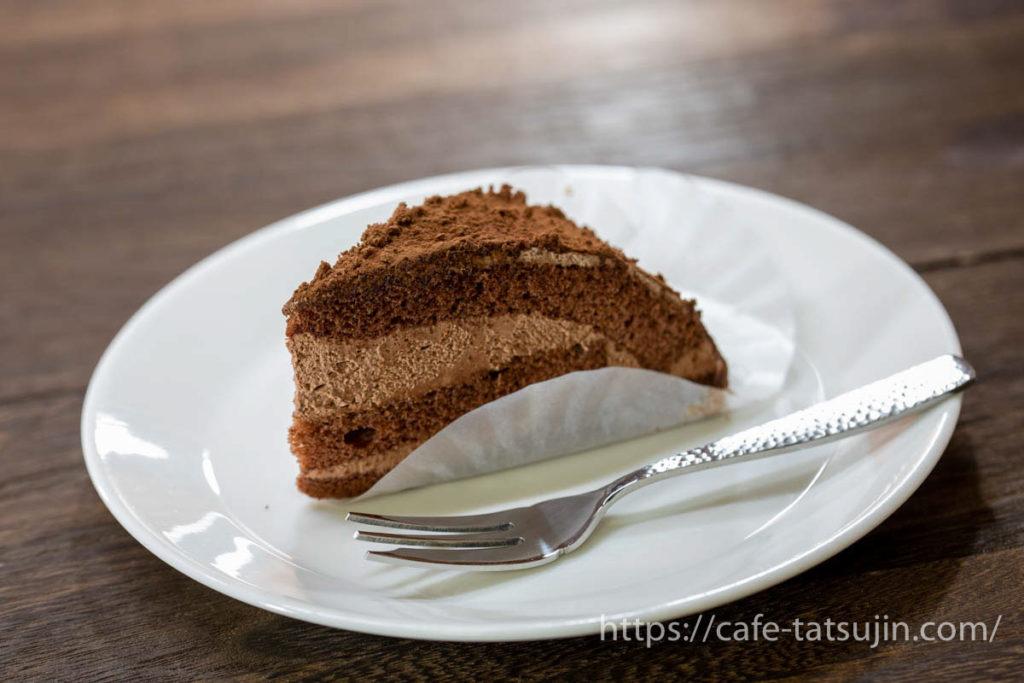 サイゼリヤの「チョコレートケーキ」